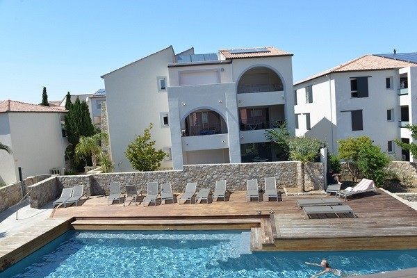 Piscine - Résidence hôtelière Les Alizes (sans transport) 3* Calvi France Corse
