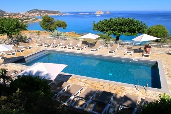 Piscine - Résidence hôtelière Marine di Palumbare (sans transport) Calvi France Corse