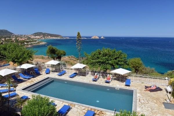 Vue panoramique - Résidence hôtelière Marine di Palumbare (sans transport) Calvi France Corse