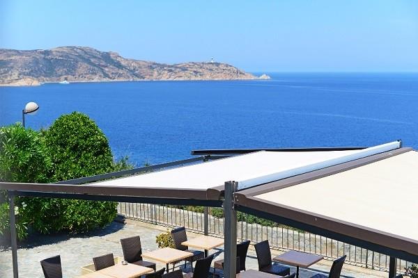 Vue panoramique - Hôtel Tramonto 2* Calvi France Corse