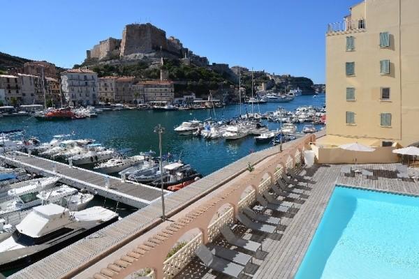 Piscine - Hôtel Solemare 3* Figari France Corse