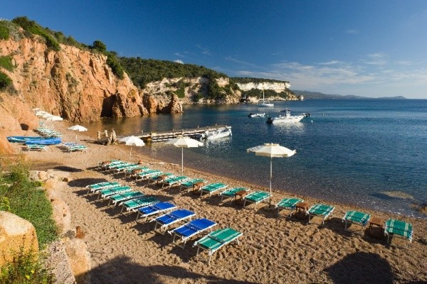 Plage - Hôtel U Capu Biancu 4* Figari France Corse