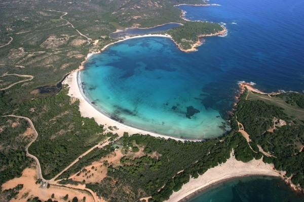 Vue panoramique - Résidence hôtelière Les Terrasses de Rondinara 4* Figari France Corse