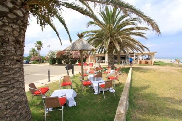 Terrasse - Hôtel San Pellegrino (sans transport) 3* Folelli France Corse