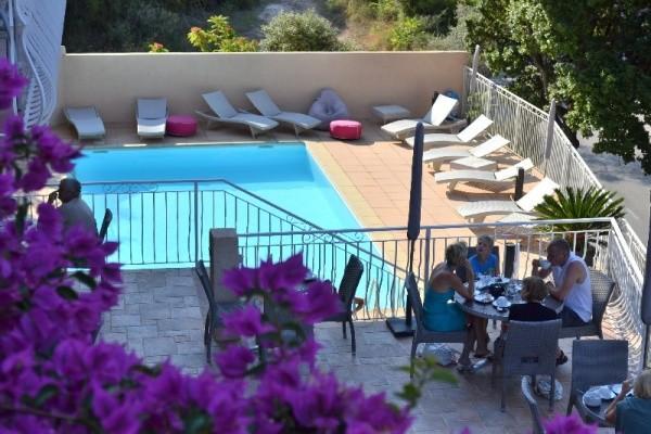 Piscine - Hôtel Capo d'Orto 3* Porto France Corse