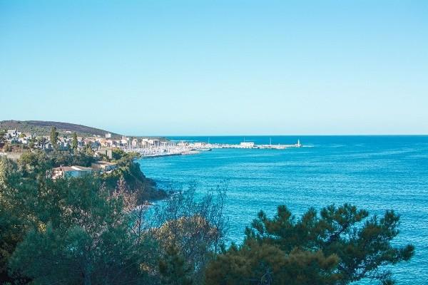 Vue panoramique - Hôtel Roc e Mare 3* Propriano France Corse