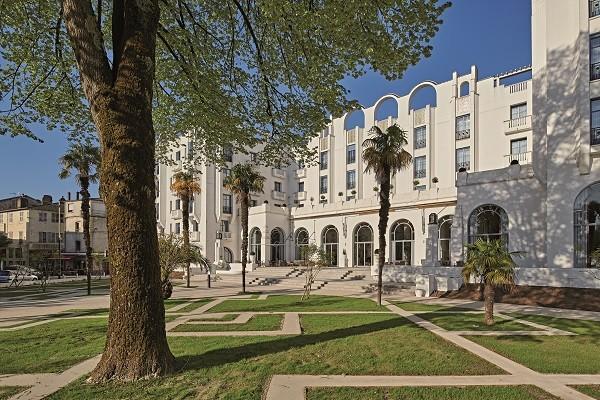 Facade - Hôtel Le Splendid 4* Dax France Cote Atlantique