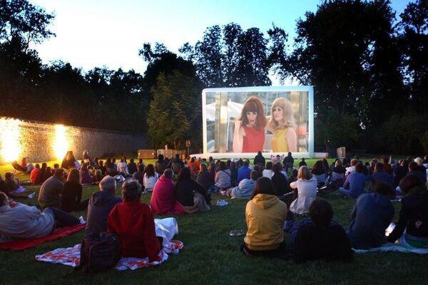 Cinéma de plein air - Framissima Pays Basque Hendaye