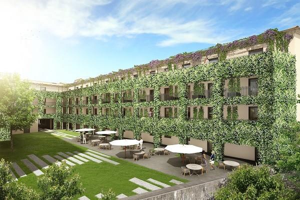 Facade - Hôtel Les Chevaliers 4* Carcassonne France Languedoc-Roussillon