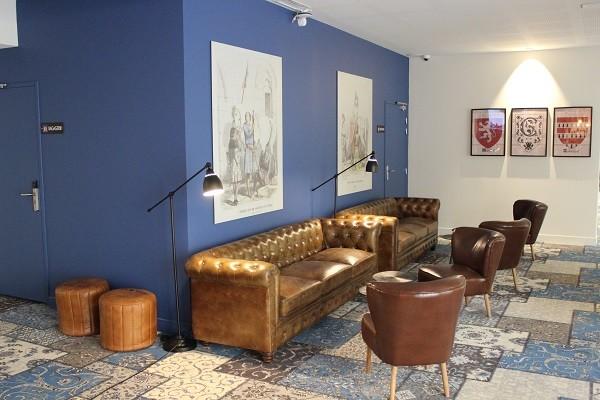 Reception - Hôtel Les Chevaliers 4* Carcassonne France Languedoc-Roussillon