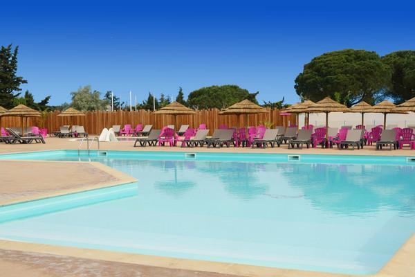Piscine - Camping Fram Camping Sélection Les Flamants Roses Occitanie 4* Saint-Nazaire France Languedoc-Roussillon