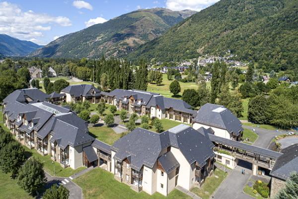 Vue panoramique - Club Top Clubs Cocoon Les Balcons des Pyrénées 3* Luchon France Midi-Pyrénées