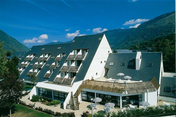 Vue générale de l'hôtel - Les Ramondies
