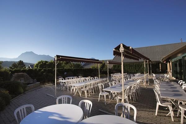 Terrasse - Club Vacances bleues Serre-Du-Villard 3* Chorges France Provence-Cote d Azur