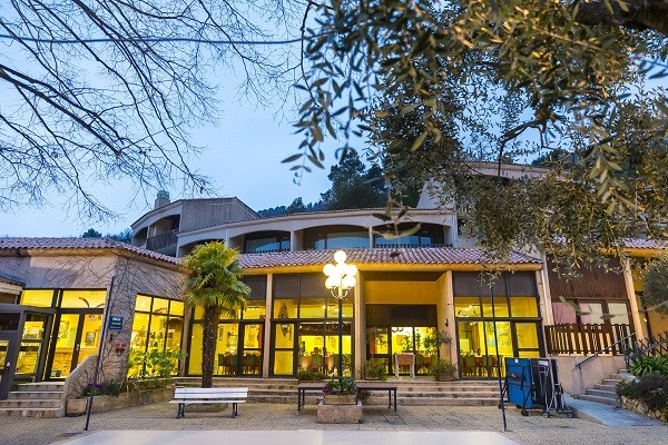 Reception - Village Vacances Domaine de l'Olivaie Vacances ULVF 3* Gilette France Provence-Cote d Azur