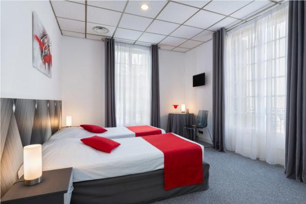 Chambre - Hôtel El Paradiso 3* Menton France Provence-Cote d Azur