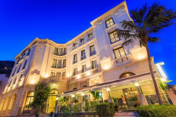 Facade - Hôtel El Paradiso 3* Menton France Provence-Cote d Azur
