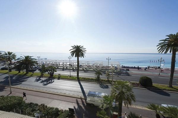 Vue panoramique - Hôtel Vacances bleues Le Royal 3* Nice France Provence-Cote d Azur