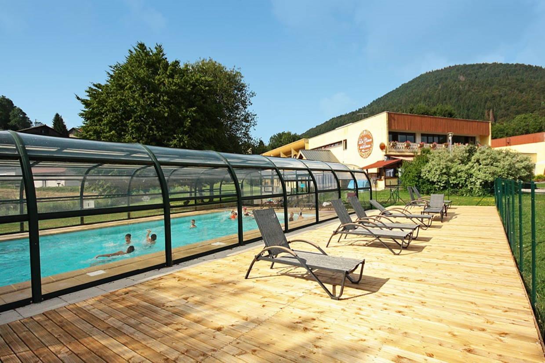 Piscine - Village Vacances Les Cîmes du Léman 3* Habère-Poche France Rhone-Alpes