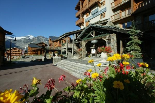 Facade - Hôtel Village Montana 4* Tignes France Rhone-Alpes