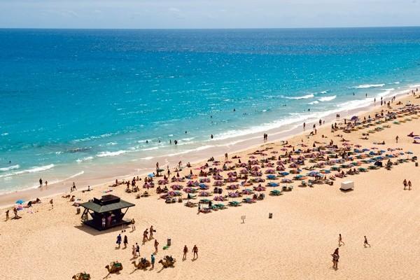 Plage - Hôtel Club Hotel Riu Oliva Beach Resort 3* Fuerteventura Canaries