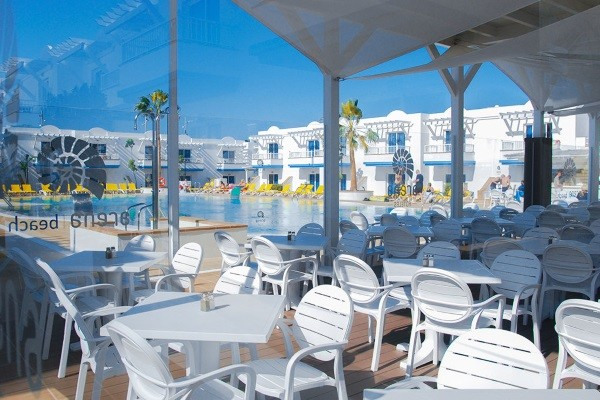 Terrasse - Hôtel Arena Beach 3* Fuerteventura Fuerteventura