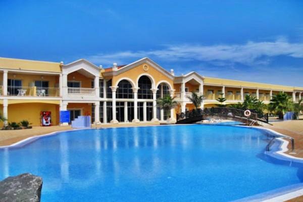 Vue panoramique - Hôtel Cotillo Beach 3* Fuerteventura Canaries