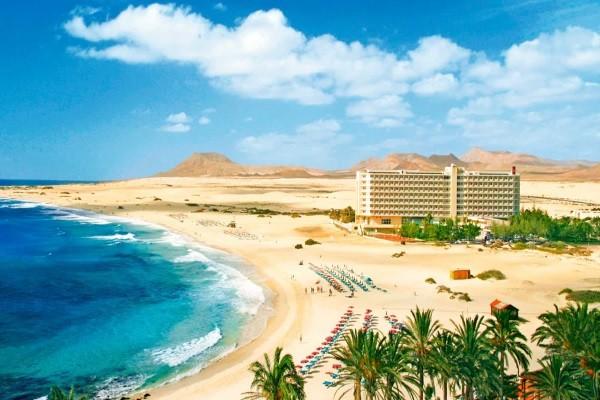 Vue panoramique - Hôtel Riu Oliva Beach 3* Fuerteventura Fuerteventura