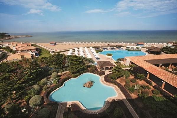 Vue panoramique - Hôtel O Club Premium Aldemar Olympian Village & Family Resort 5* Araxos Grece