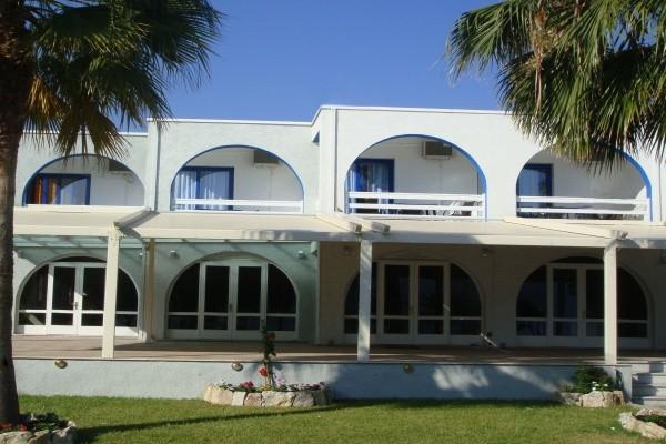 Facade - Résidence hôtelière Theo 3* sup + location de voiture Athenes Grece