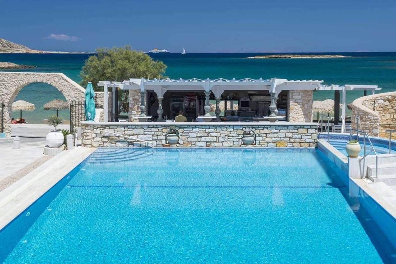 Piscine - Hôtel Contaratos Beach 4* Athenes Grece