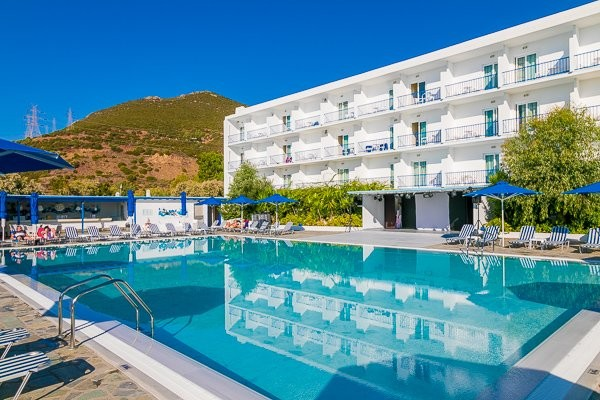 Piscine - Hôtel Delphi Beach 4* Athenes Grece