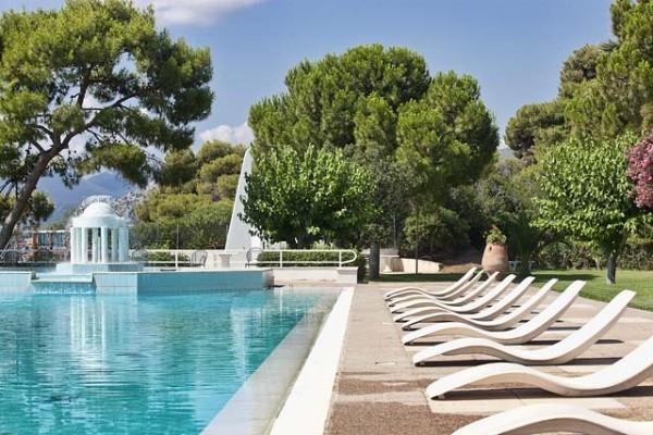 Piscine - Hôtel Kalamaki Beach 4* Athenes Grece