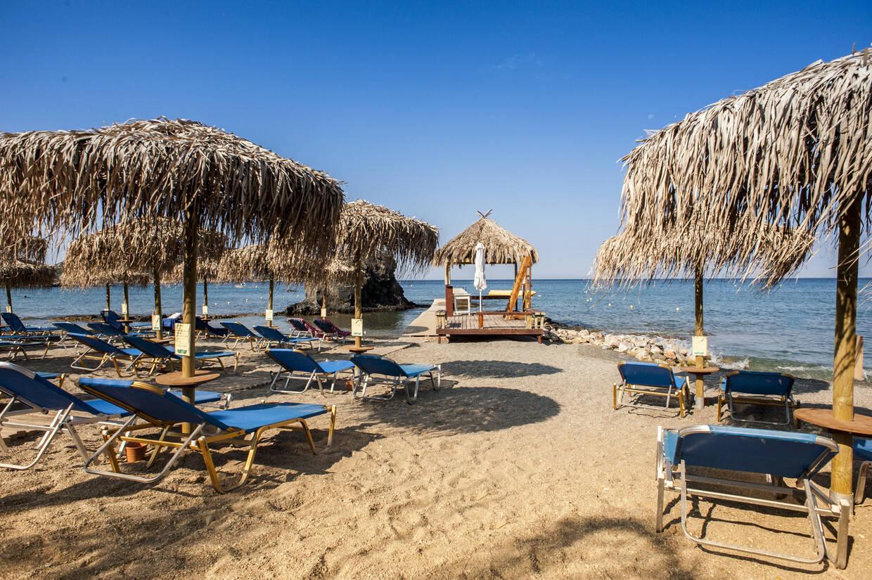 Plage - Hôtel EverEden Beach Resort & Spa 4* Athenes Grece