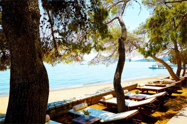 Plage - Hôtel Ôclub Premium Barcelo Hydra Beach Resort 5* Athenes Grece