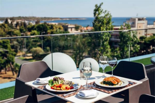 Restaurant - Hôtel Hotel Emmantina 4* Athenes Grece