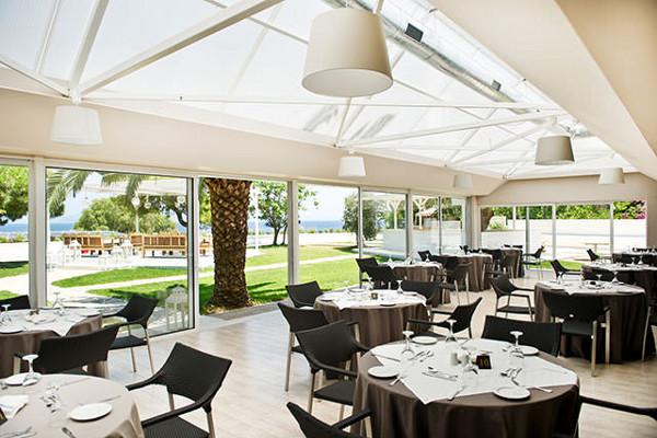 Restaurant - Hôtel Marathon Beach Resort 3* Athenes Grece
