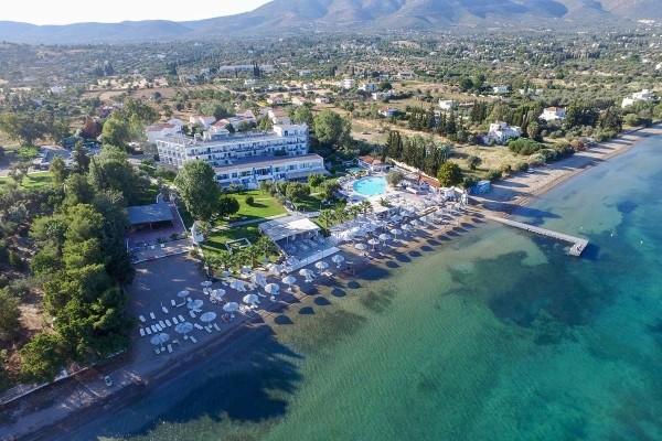 Vue panoramique - Club Héliades Grand Bleu Beach Resort 3* sup Athenes Grece