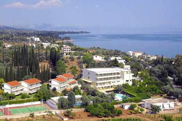 Vue panoramique - Hôtel Miramare Eretria 4* Athenes Grece