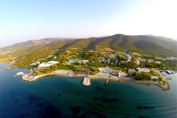 Vue panoramique - Hôtel Ôclub Premium Barcelo Hydra Beach Resort 5* Athenes Grece