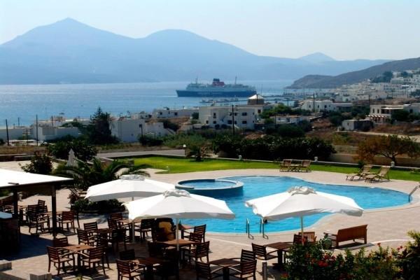 Vue panoramique - Hôtel Santa Maria Village 3* Athenes Grece