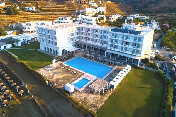 Vue panoramique - Hôtel Tinos Beach 3* Athenes Grece