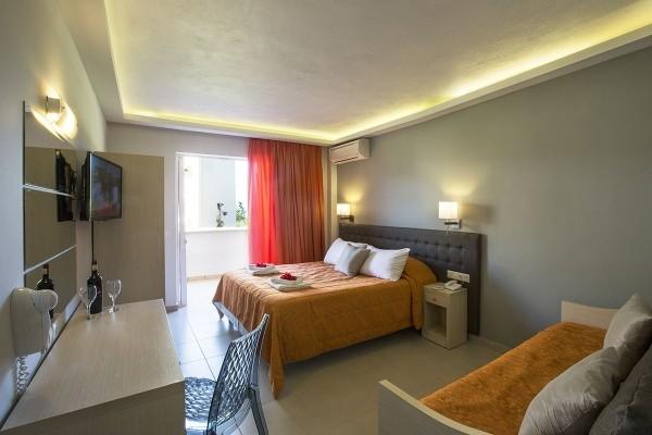 Chambre - Hôtel Le Mareblue Beach 4* Corfou Grece