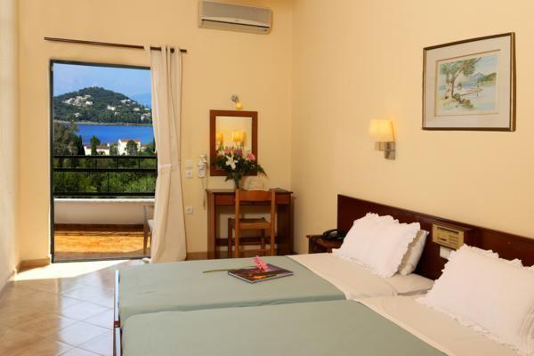 Chambre - Hôtel Paradise Hotel Corfou 3* Corfou Grece
