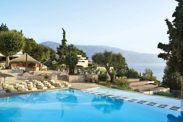 Piscine - Hôtel Grecotel Lux Me Daphnila Bay 5* Corfou Grece