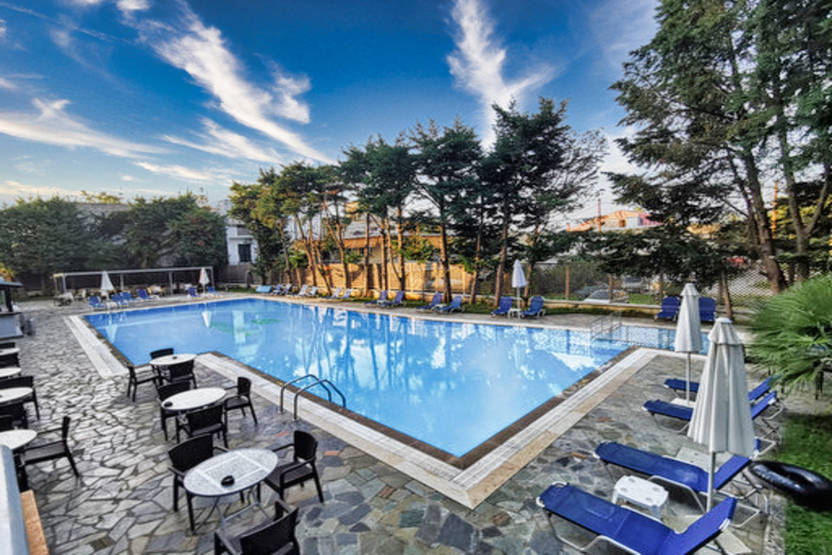 Piscine - Hôtel Hellinis 3* Corfou Grece