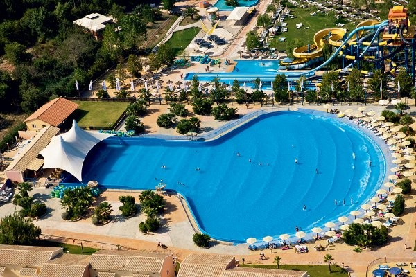 Piscine - Hôtel SplashWorld Aqualand Resort 4* Corfou Grece