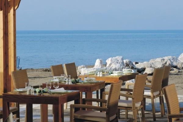 Terrasse - Club Jet Tours Roda Beach 4* Corfou Grece