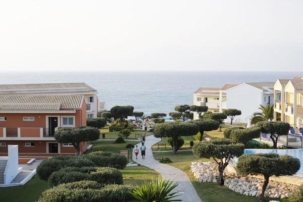 Vue panoramique - Hôtel Le Mareblue Beach 4* Corfou Grece