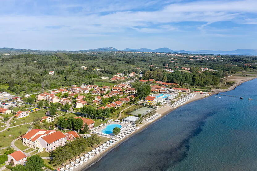 Vue panoramique - Club Lookéa Capo di Corfou 4* Corfou Grece